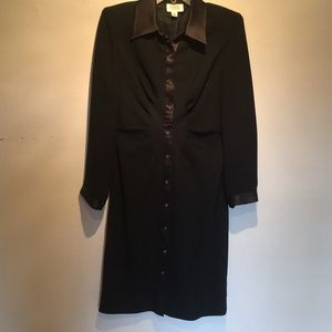 Talbots dressy button down dress